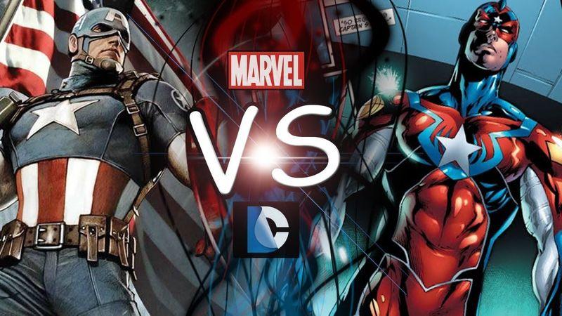 ¿Capitán América (Marvel) o Commander Steel (DC)?