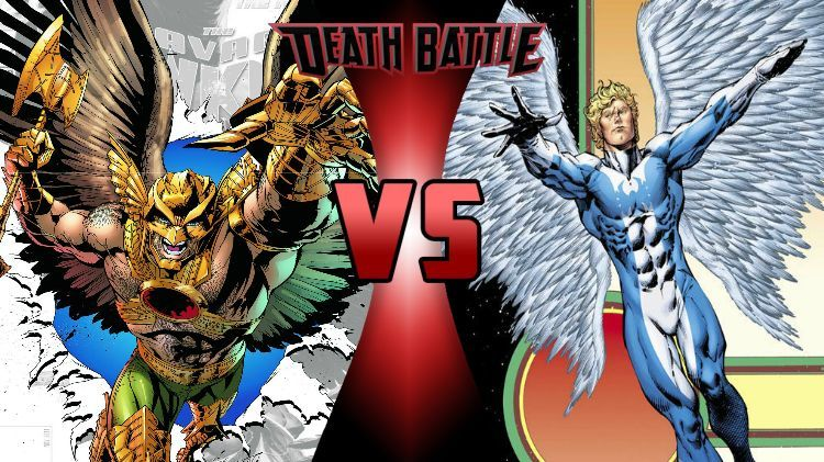 ¿Hawkman (DC) o Angel (Marvel)?