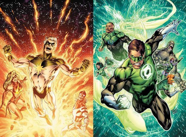 ¿Quasar (DC) o Green Lantern (Marvel)?