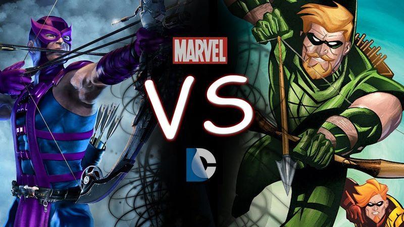 ¿Hawkeye (Marvel) o Green Arrow (DC)?