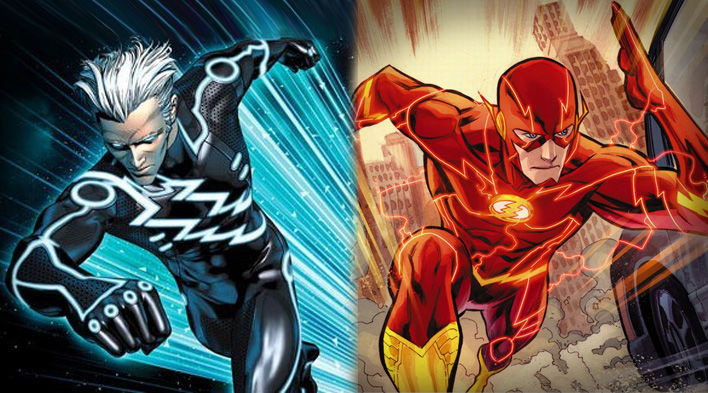 ¿Quicksilver (Marvel) o Flash (DC)?