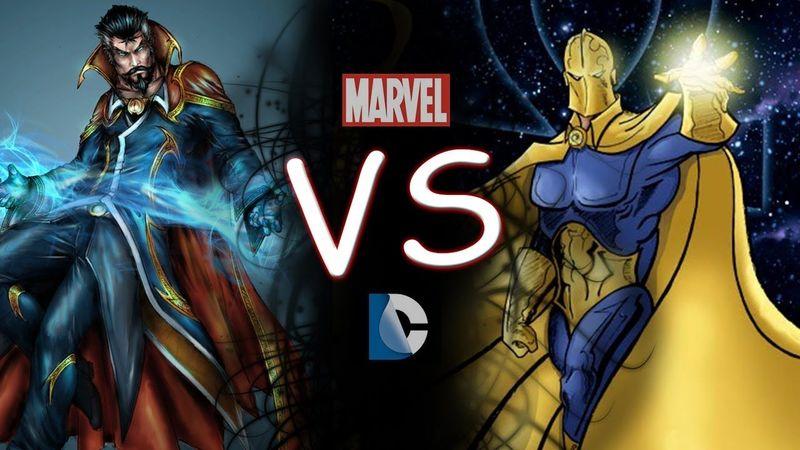 Para finalizar: ¿Dr Strange  (Marvel) o Dr Fate (DC)?