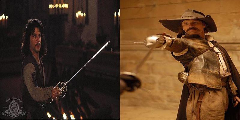 ¿Qué espadachín español de cine es mejor?¿Iñigo Montoya o el Capitán Alatriste?