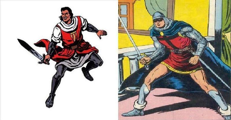 ¿Quién ganaría en un combate entre ambos guerreros? ¿El Capitán Trueno o el Guerrero del Antifaz?