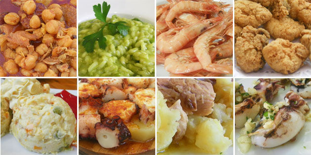 ¿Cuál de estos platos de Cádiz no es típico de esta ciudad gaditana?