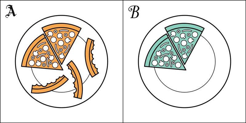 ¿Qué haces con la corteza de la pizza?