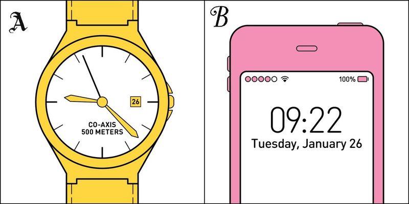 ¿Dónde miras la hora?