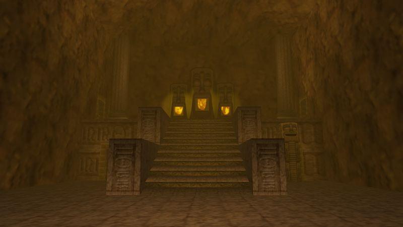 ¿Quién es el jefe del Templo del Fuego de Ocarina of Time?