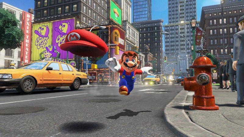 ¿Cómo se llama la ciudad de Super Mario Odyssey?