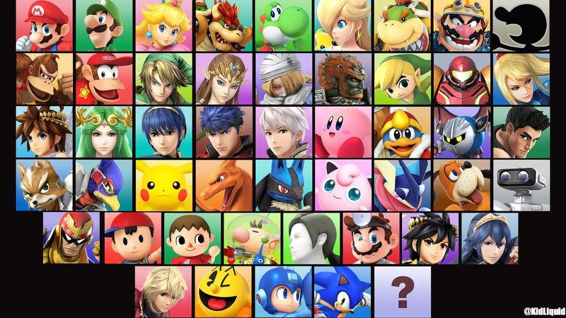 ¿Cuál fue el único personaje debutante en Smash Bros 3DS/Wii U sin trailer?