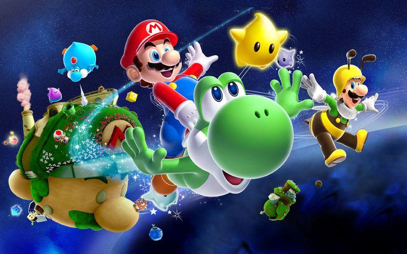 ¿Cuál de estos powerups de Mario Galaxy no está en Mario Galaxy 2?