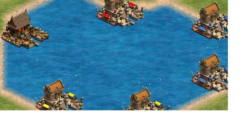 ¿Qué civilización puede convertir los Muelles a Puertos?