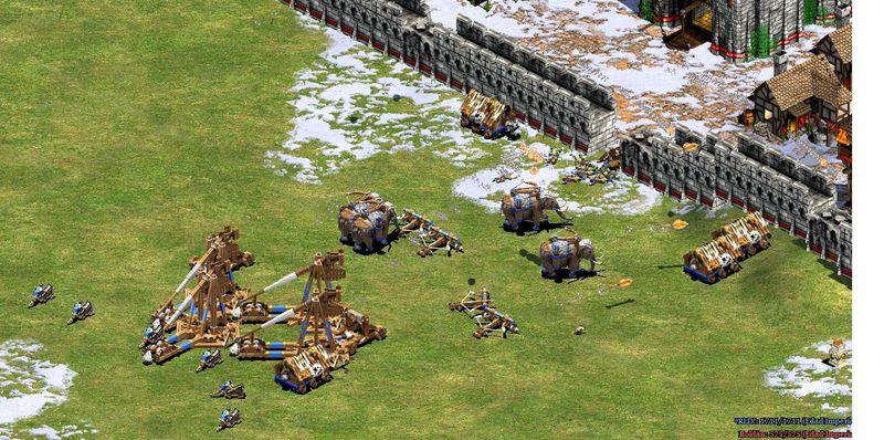 Si tuvieras que hacer un ejercito compuesto por unidades de asedio, ¿qué opción elegirías?