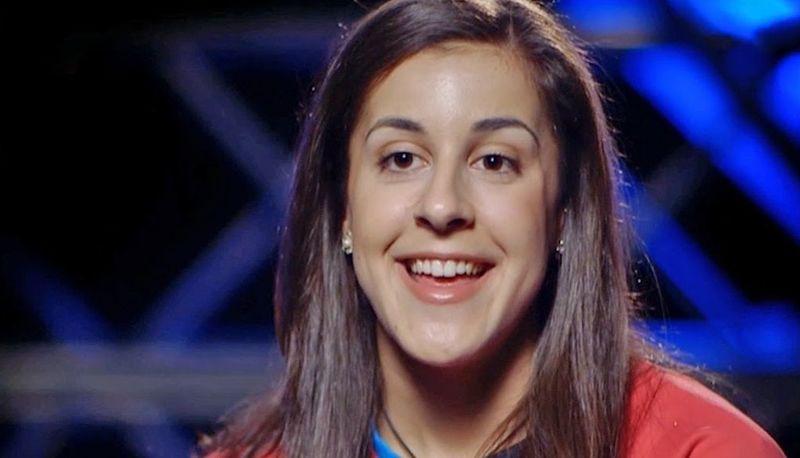 La jugadora de bádminton Carolina Marín.