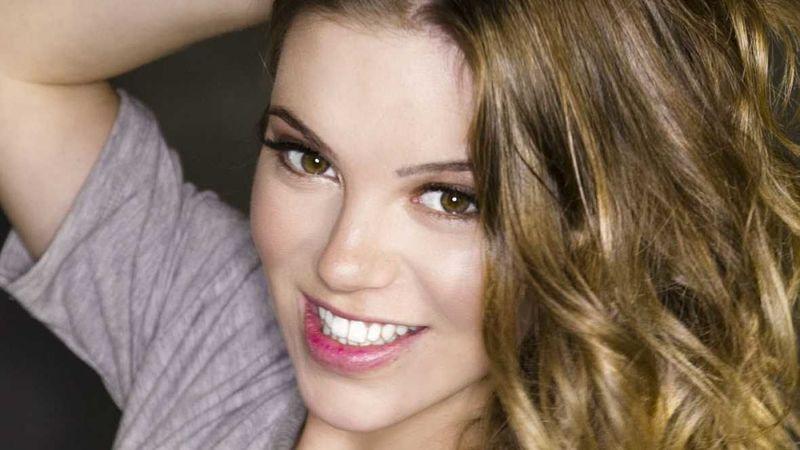La cantante María Isabel.