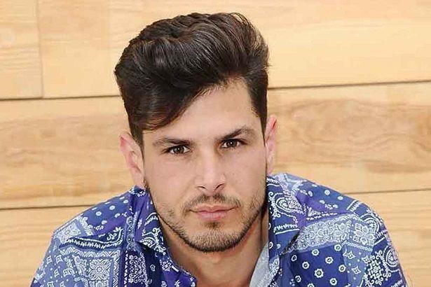 El modelo, Míster España 2015 Alejandro Nieto.