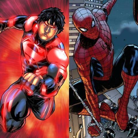 ¿Spider-Man o Superboy?