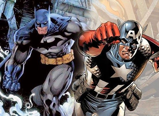 ¿Batman o Capitán América?