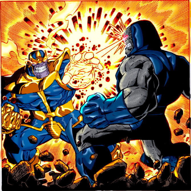 ¿Thanos o Darkseid?