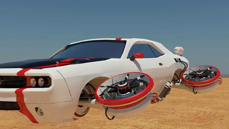 ¿Los coches voladores reemplazarán a los coches tradicionales?