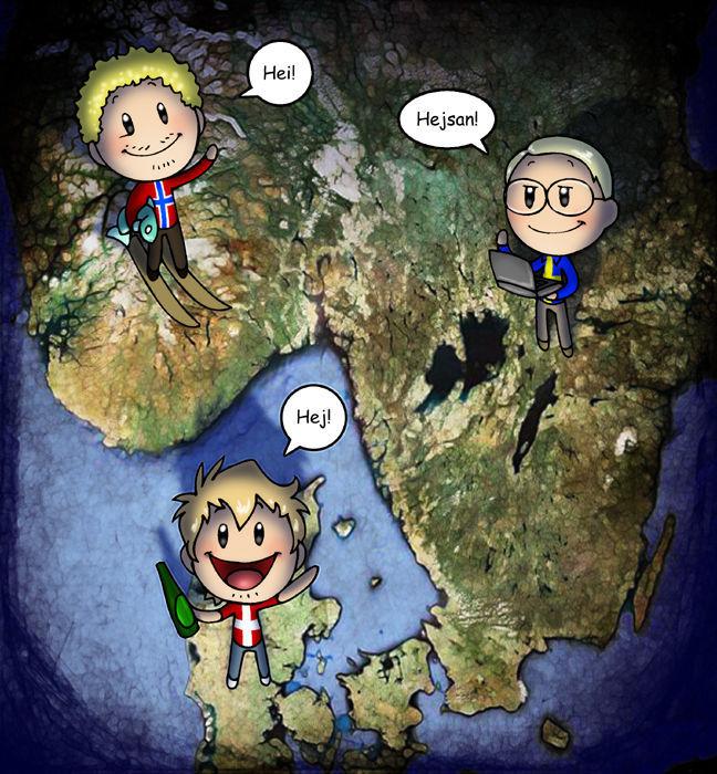 26697 - ¿Cuánto sabes de Scandinavia and the World?