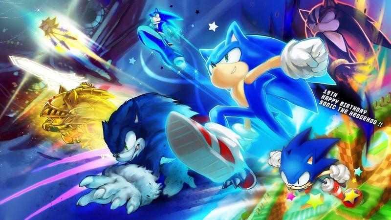 26723 - Curiosidades sobre videojuegos. Sonic the hedgehog