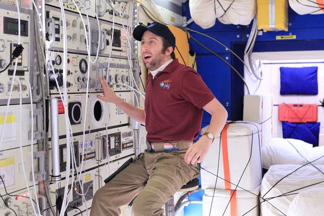 Cuando Howard viajó al espacio, ¿donde fue?