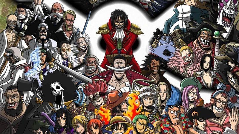En la serie de One Piece, ¿Qué animal es miembro de la banda?