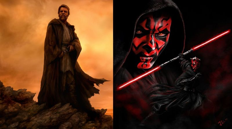 OBI-WAN KENOBI vs DARTH MAUL