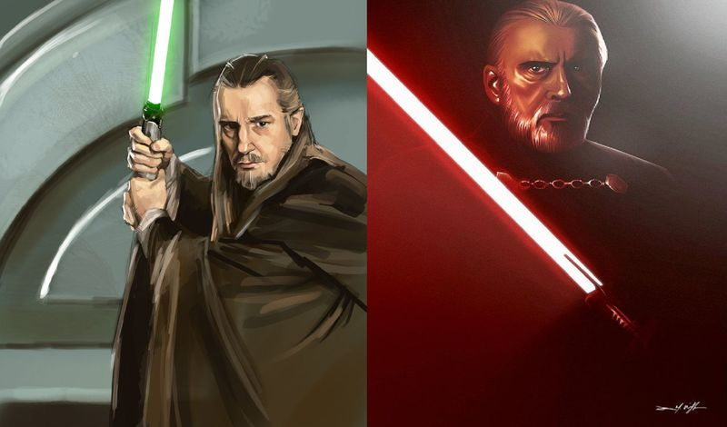 QUI-GON JINN vs DARTH TYRANUS