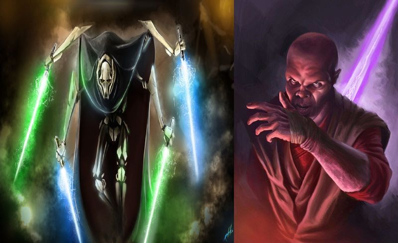 DARTH GRIEVOUS vs MACE WINDU