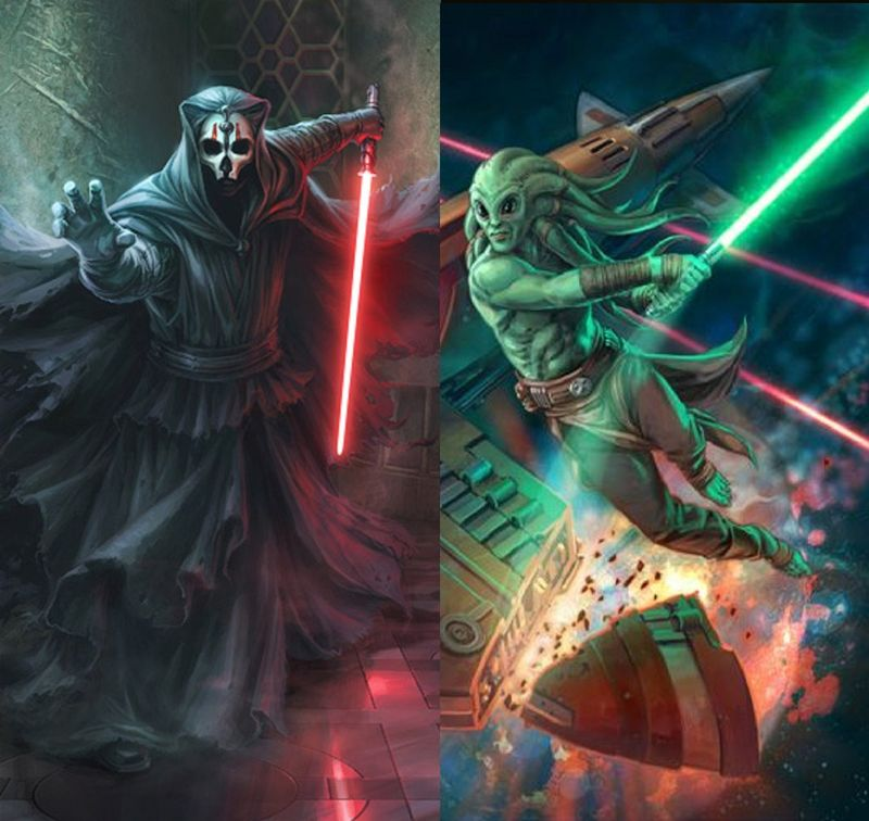 DARTH NIHILUS vs KIT FISTO