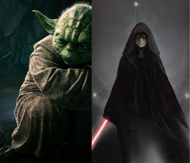 YODA vs DARTH SIDIOUS