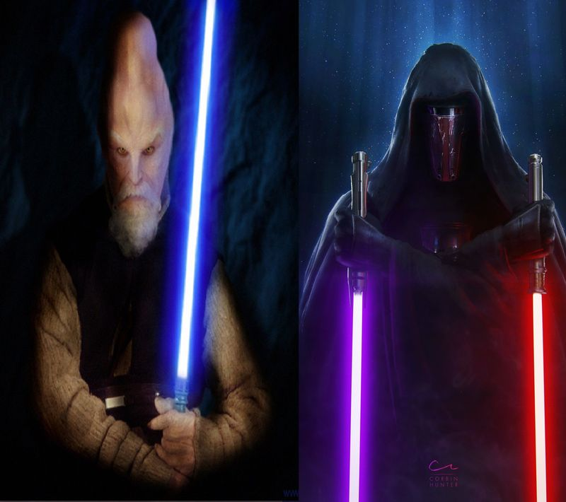 KI-ADI-MUNDI vs DARTH REVAN