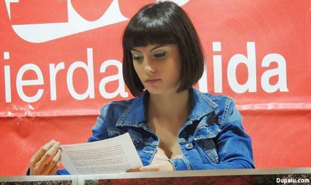 Eva Aizpurua(Izquierda Unida)