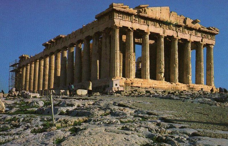 Vamos con Grecia. La civilización griega tuvo como centro el mar....