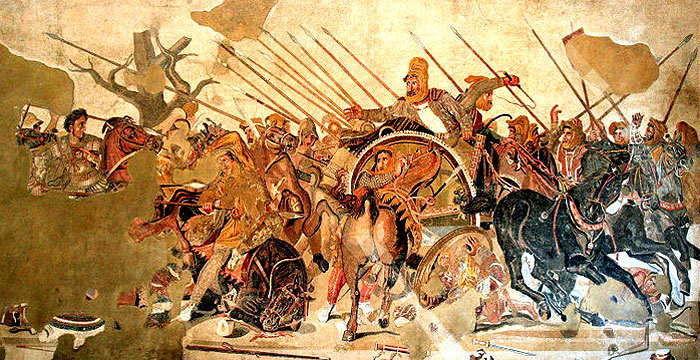 ¿Quién conquistó el imperio persa y formó un nuevo imperio que se extendió desde la India hasta el mar Egeo?