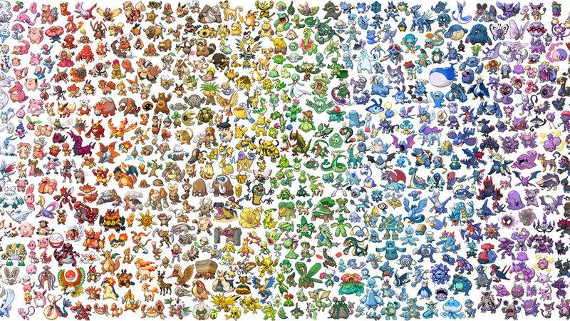 ¿Cuántos pokémon hay actualmente?