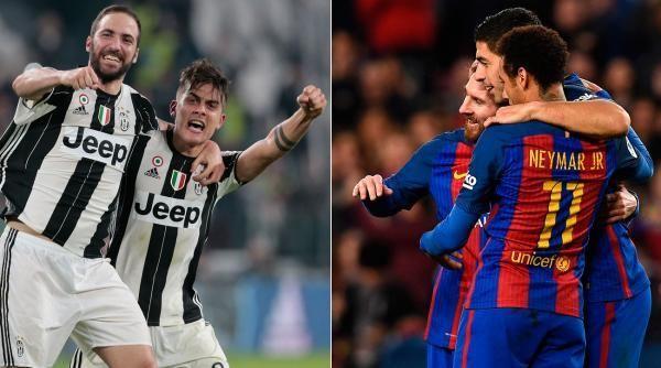 Otra difícil, ¿quién ganará entre Barcelona - Juventus?