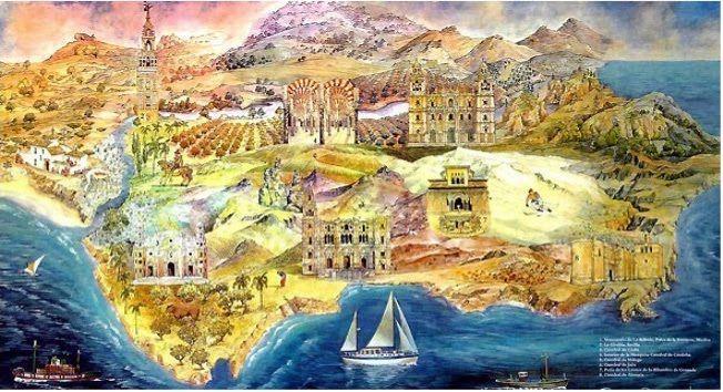 27021 - ¿Sabrías reconocer estos monumentos y obras de arte del patrimonio andaluz?