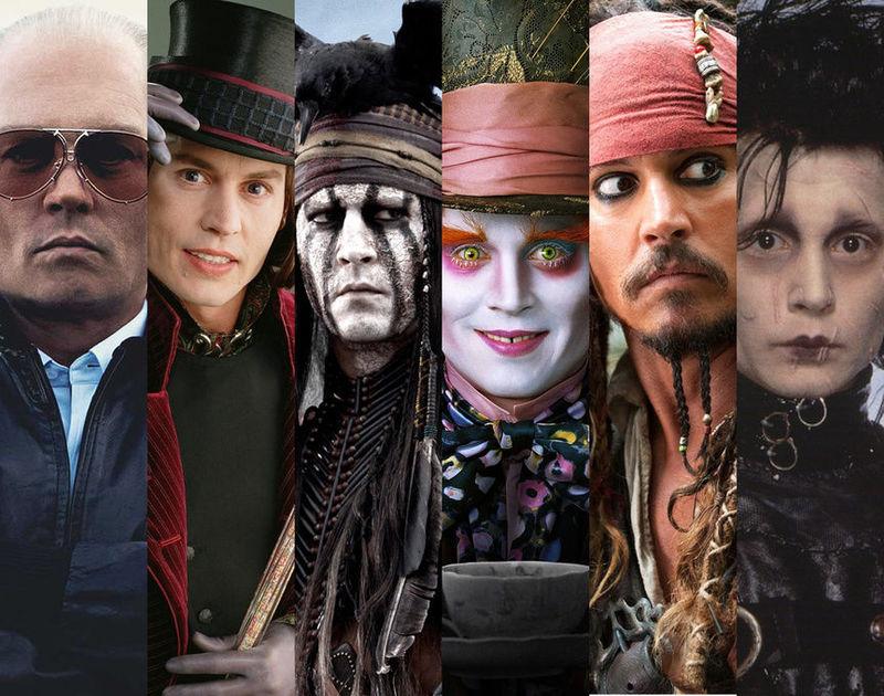 27066 - ¿A qué personaje interpretado por Jonnhy Depp te pareces?