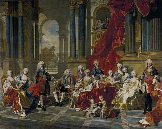 Rey de España que abdicó a favor de su hijo.