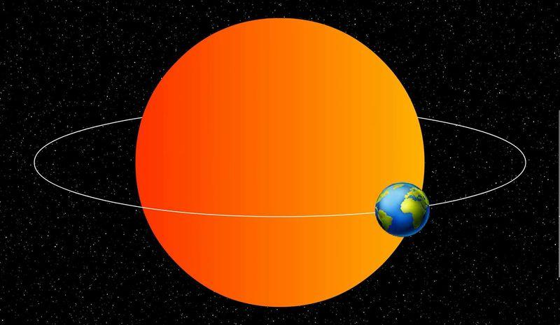 Fué el primero en decir que la Tierra orbita alrededor del Sol.