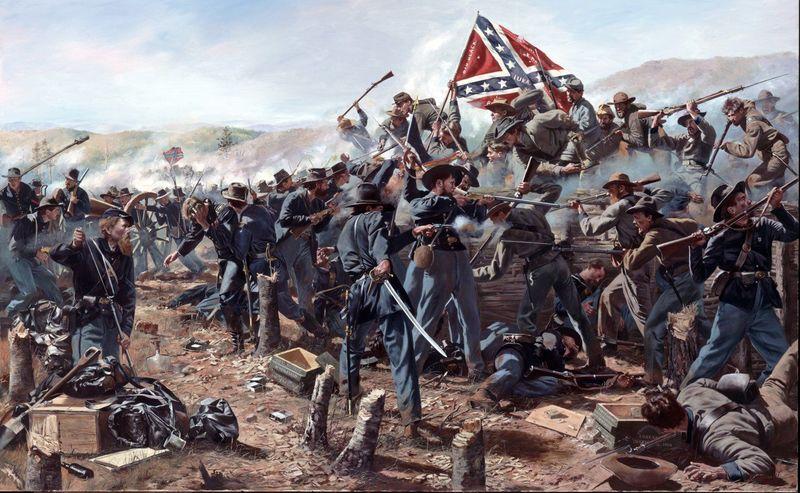 ¿Cuántos años existieron los estados confederados?