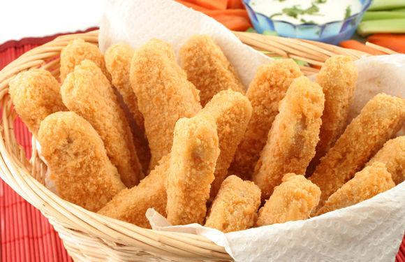 ¿Croquetas, fingers de pollo, o varitas de merluza?