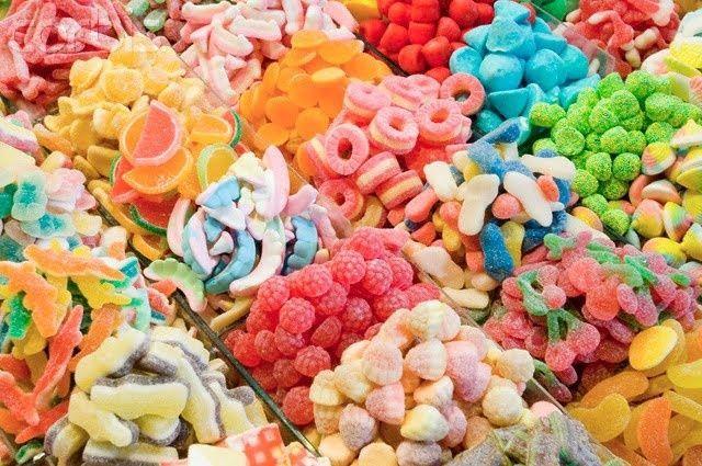 ¿Chuches dulces, saladas o ácidas?