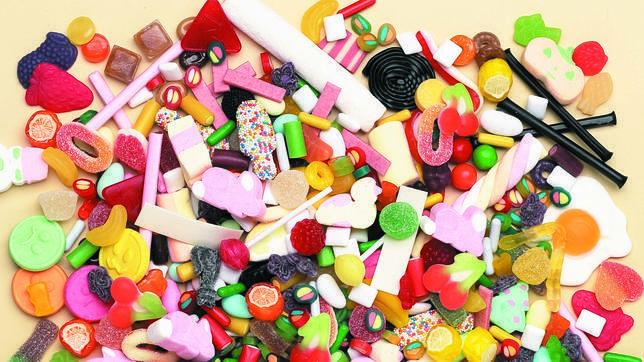 ¿Golosinas con azucar por encima o sin azúcar por encima?