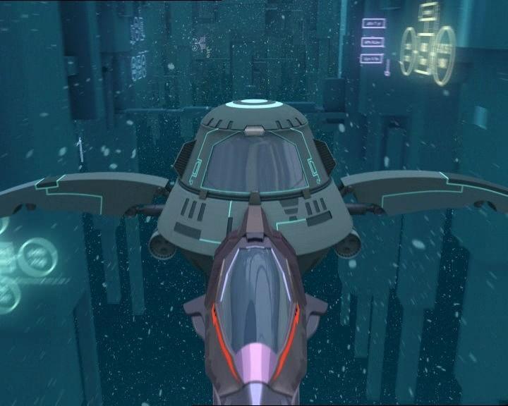 ¿Cómo se llama la nave que los guerreros de Lyoko usan para navegar por la red?