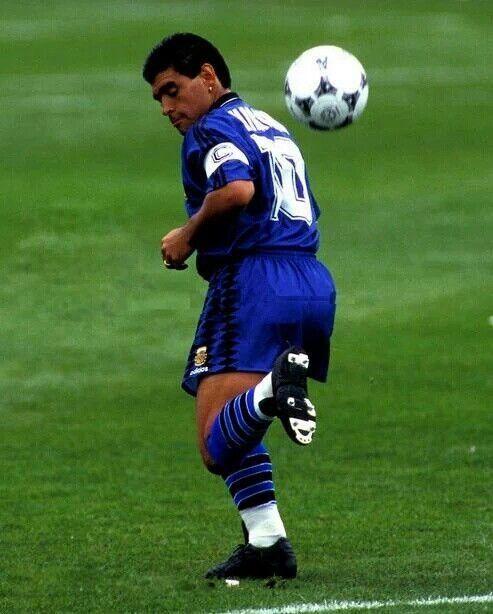 ¿En qué Mundial se quedó sin marcar Diego Armando Maradona?