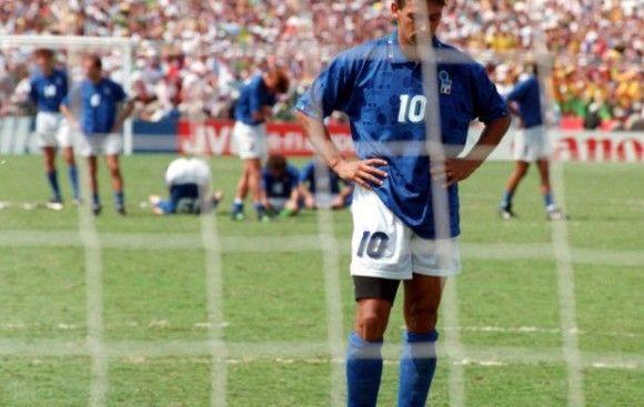 Seguimos en 1994, ¿Qué famoso jugador italiano falló en la tanda de penalty durante la final disputada entre Italia y Brasil?
